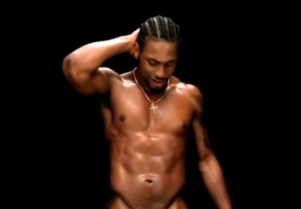 D'Angelo in the music video for Untitled (How Does it Feel)